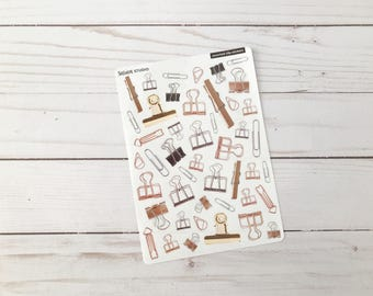 Assorted Clip Stickers for Journals & Planners