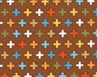 Remix Crosses Bermuda by Ann Kelle for Robert Kaufman, 1/2 yard