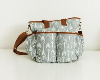 BLEMISHED BAG SALE - Arrows Diaper Bag