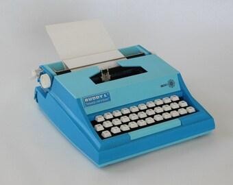 Vintage BUDDY L Typewriter, Machine à écrire, Vintage Typer toy, 1976, Made in Japan