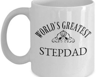 World's Greatest Stepdad | Gift Mug for Stepfather | Bonus Dad Present