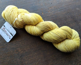 Bittersweet Yarn, Star Dust HT Sock Yarn - Goldenrod