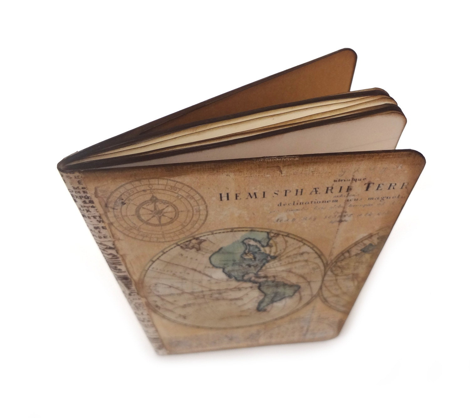 Map travel journal old world map travel notebook compass zoom gumiabroncs Gallery