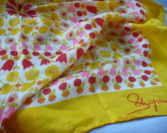 Pure Silk Vintage Scarf