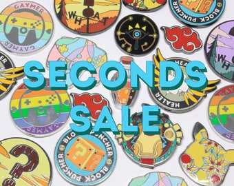 Enamel Pins SECONDS SALE