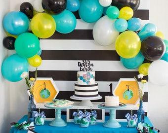 1st BIRTHDAY BOY BANNER personalized  / 1st birthday boy decoration / Wild one banner / Wild one birthday / First birthday banner / Banners