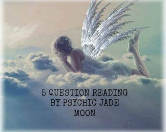 5 Question Psychic Reading By An Experienced Reliable Psychic