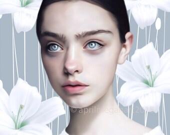 "Lily - Giclee Print - 8"" x 10"""