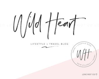Feminine Logo Design / Blog Logo / Small Business Logo / Photography Logo / Sub Logo / Branding