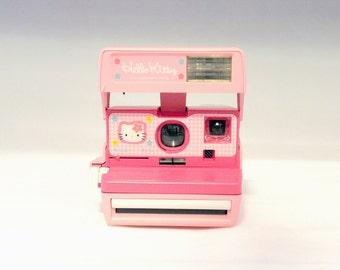 Polaroid 600 HELLO KITTY Limited Edition - Mint Condition