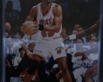 Alonzo Mourings Miami Heat 8x10