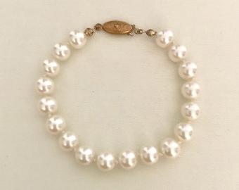 60s Pearl Bracelet   GJ2990