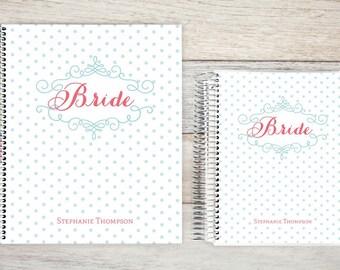 Custom Wedding Planner, Wedding Book, Bridal Organizer, Great Engagement Gift, Wedding Planning, Custom Engagement Gift, Bridal Flourish