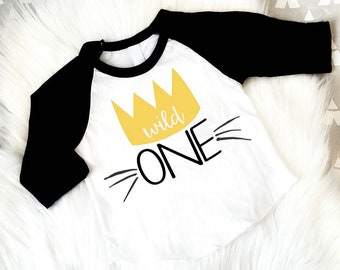 Where The Wild Things Are Birthday Shirt,  Wild One, First Birthday, Max, 1st Birthday, One Birthday shirt, Cake Smash