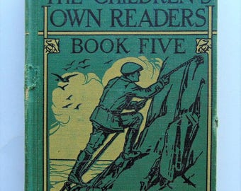 1929 The Children's Own Readers Book Five