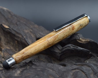 Spalted Tamarind Touch Screen Stylus