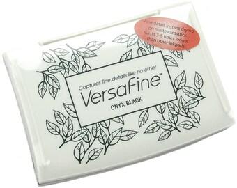 VersaFine - Ink Pad:  Onyx Black
