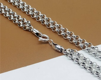 sterling s men rolo mm com chains silver chain mens