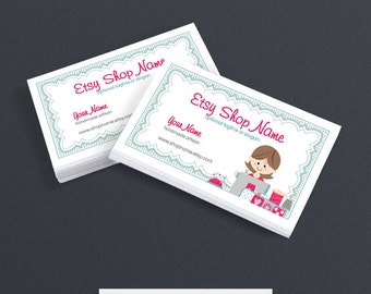 Sewing business card etsy sewing business cards business card designs business card design printable sewing 6 colourmoves