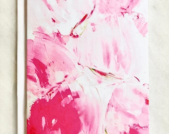 Abstract Painting Notecard