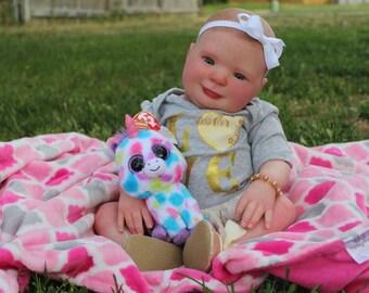 Reborn baby girl Eliza by Donna  RuBert