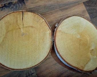 Large wood log pieces