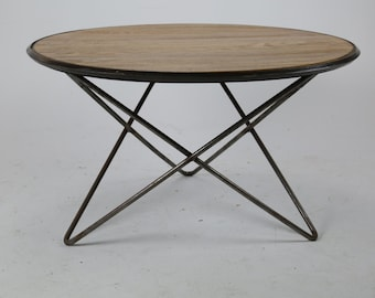 mid century 3 point table base