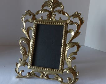 Solid Brass Picture Frame