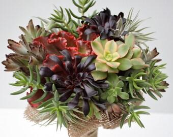 Succulent Bouquet // Bohemian Bouquet // Bridal Bouquet