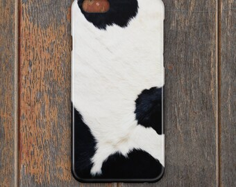 Cow Skin Phone Case - PC040 | Personalised Gift | Unique Gift | Phone Case | iPhone | Samsung