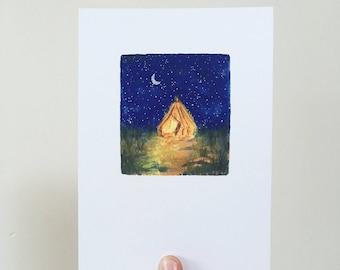 Magic Tent Print