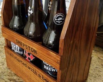 Oak Craft Beer Carrier