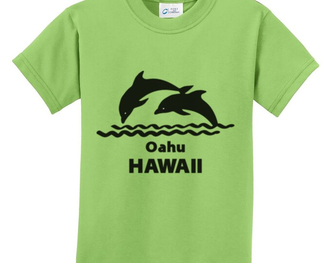 Oahu Hawaii Dolphin T-Shirt