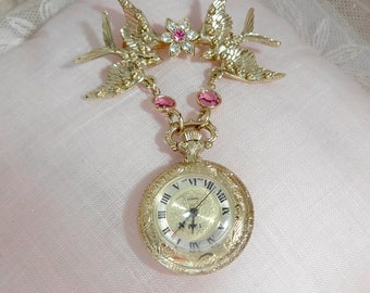 Victorian Lapel Watch
