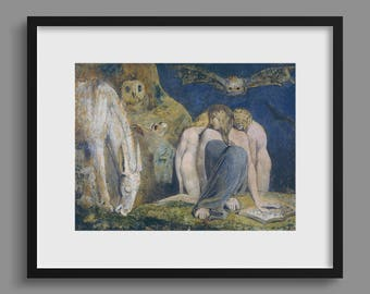 Hecate - William Blake - Enitharmon,Hekate