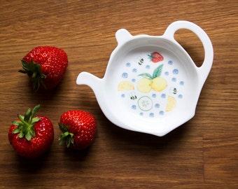 Summer Fruits Tea Bag Tidy