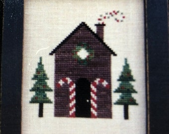 APRILSALE Bent Creek, Holiday Houses, Part 1, Part 2,  and Part 3, Book Number BC1030,BC1031, Bc1032, Counted Cross Stitch Pattern