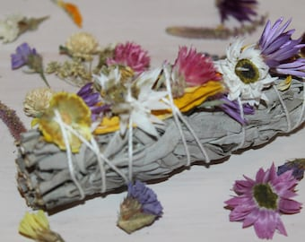 Wildflower Smudge Stick