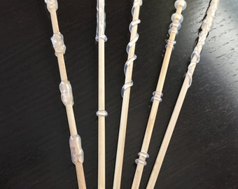 DIY Magic Wands/ Wand Party Favors/ Unfinished Wands/ Painting Project/ Wedding Wands