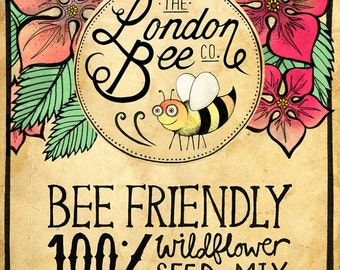 100% Bee Friendly Wildflower Seeds