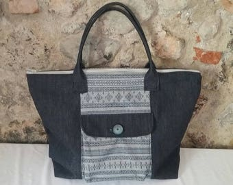 Jeans Fabric Bag