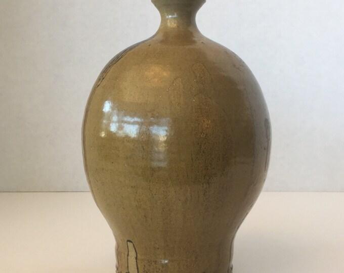 1970s Hand Thrown Bud Vase