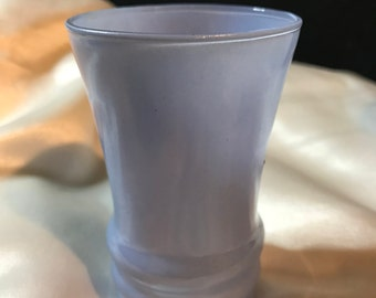 Set of 8 Rainbow Blue, Fire King, Anchor Hocking JUICE GLASSES