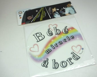 Baby on board, vinyl, great baby gift!