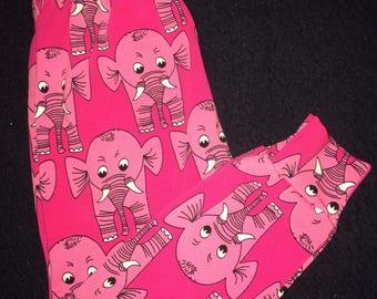 Baby/ toddler leggings - elephants