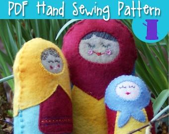 Amigurumi Russian Doll Pattern : Matryoshka pattern etsy