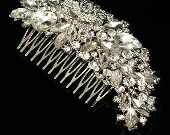 Wedding Bridal Hair Comb wedding Hair Wedding Accessories Bridal Comb wedding Comb Bridal Head Pieces Silver comb Bridesmaids Gift