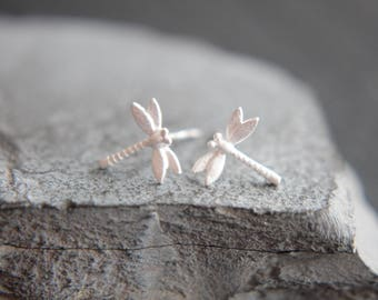 Dragonfly Earrings in 925 silver also for children