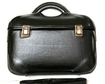 Parisienne leather bag,black,hard,quality,handmade,handcrafted,unique,large,handcrafted,original,italian,genuine,shoulder,crossbody,satchel