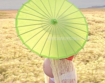 Paper Umbrella - Multiple Colors Available!